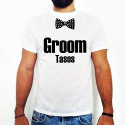 """Bowtie Groom"" Tsirt για το Γαμπρό"