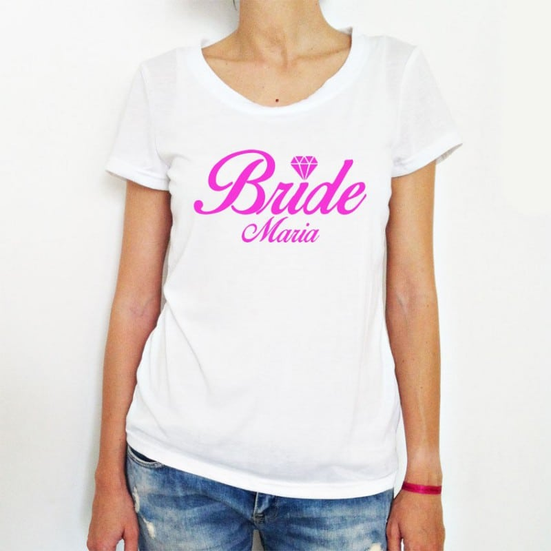 """""""Diamond Bride"""" Tshirt για τη Νύφη"""