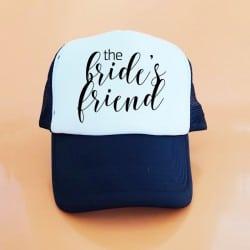 """The Friend"" Μαύρο bachelorette καπέλο για τις φίλες της νύφης"