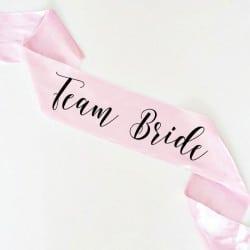 """Team Bride"" Bachelorette Κορδέλα"