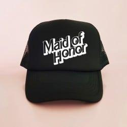 """Barbie Maid of Honor"" Jockey καπέλο για την κουμπάρα"