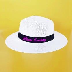 """Bride Loading"" Panama καπέλο νύφης"
