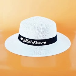 """Heart"" Panama καπέλο κουμπάρας"