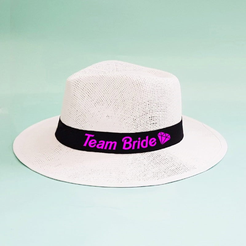 """""""Barbie"""" Panama καπέλο για τις φίλες"""