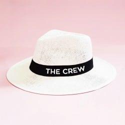 """The Crew"" Panama καπέλο για τις φίλες"