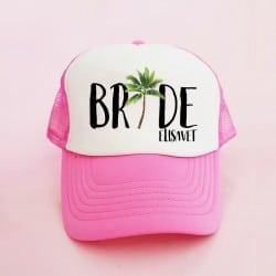 """""""Aloha Bride"""" Bachelorette Καπέλο Νύφης"""
