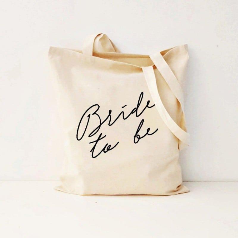 """Bride To Be"" Bachelorette Τσάντα"