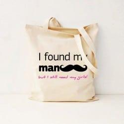 """""""I Found My Man"""" Bachelorette Τσάντα"""