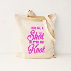 """""""Buy Me a Shot"""" Τσάντα νύφης"""