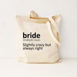 """""""Dictionary"""" Τσάντα νύφης"""