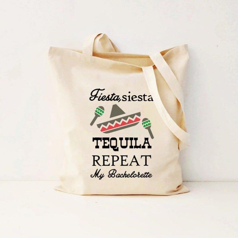 """""""Fiesta, siesta, tequila"""" Τσάντα νύφης"""