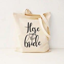 """Here Comes the Bride"" Τσάντα νύφης"
