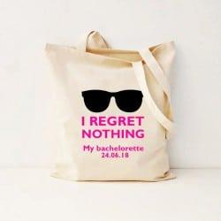 """""""Regret Nothing"""" Τσάντα νύφης"""