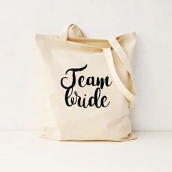 """Team Bride"" Bachelorette Τσάντα"