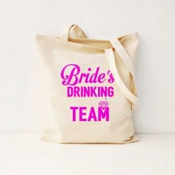 """Bride's Drinking Team"" Bachelorete Τσάντα"