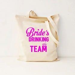 """""""Bride's Drinking Team"""" Bachelorete Τσάντα"""