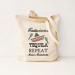 """""""Fiesta, Siesta, Tequila"""" Bachelorette Τσάντα"""