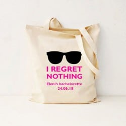 """Regret Nothing"" Bachelorette Τσάντα"