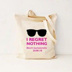 """Regret Nothing"" Bachelorette Τσάντα"