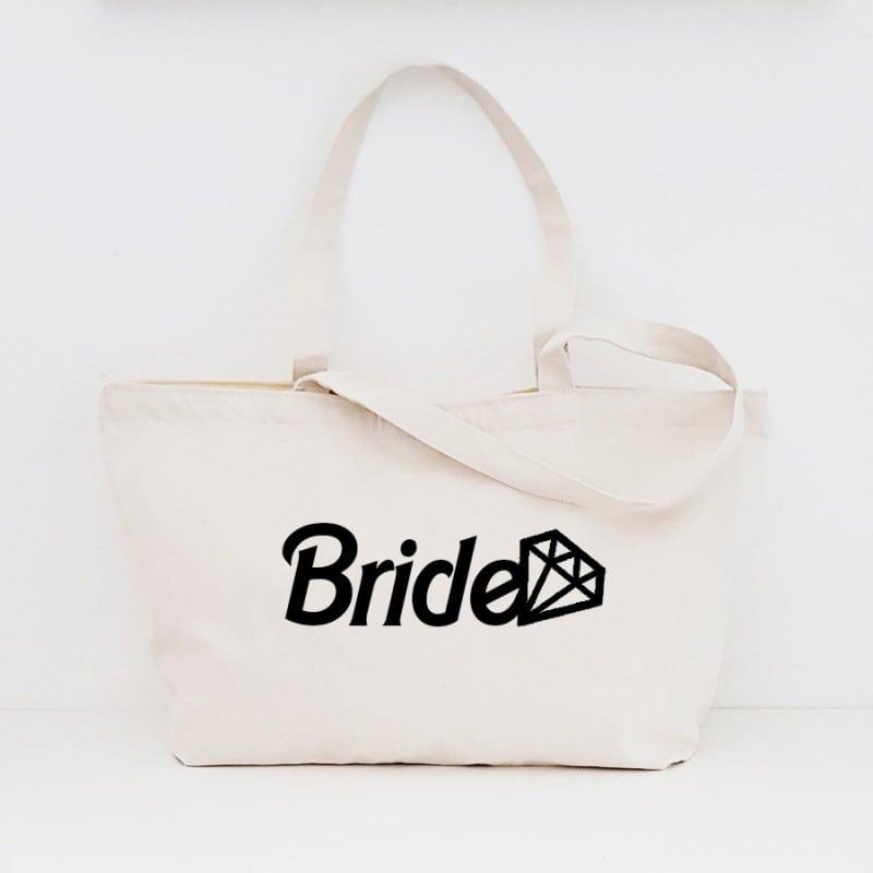 """Barbie"" Τσάντα νύφης με φερμουάρ"