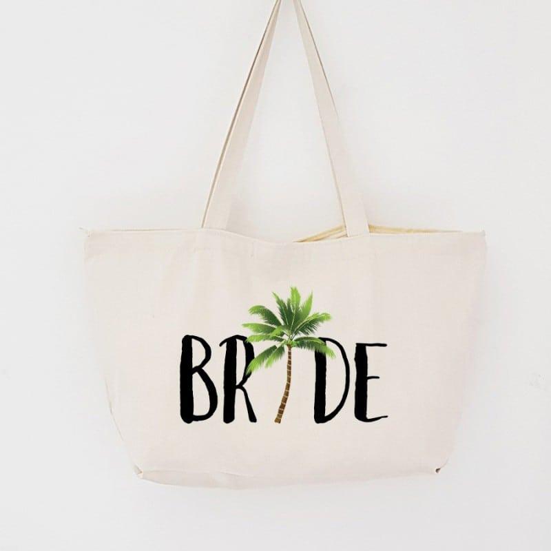"""""""Aloha"""" Τσάντα νύφης με φερμουάρ"""