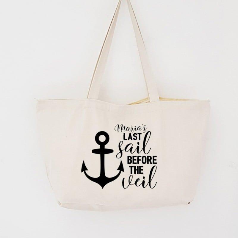 """Last Sail"" Τσάντα για τις φίλες με φερμουάρ"