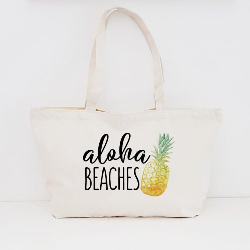 """Pineapple"" Τσάντα για τις φίλες με φερμουάρ"