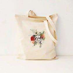"""""""Round Floral"""" Τσάντα νύφης"""