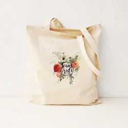 """Round Floral"" Bachelorette τσάντα για τις φίλες"