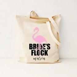 """Flamingo"" Bachelorette τσάντα για τις φίλες"