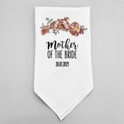 """Floral"" Μαντηλάκι γάμου για τη μαμά"