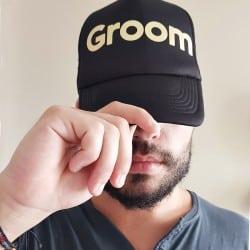 """Groom"" Jockey καπέλο γαμπρού"