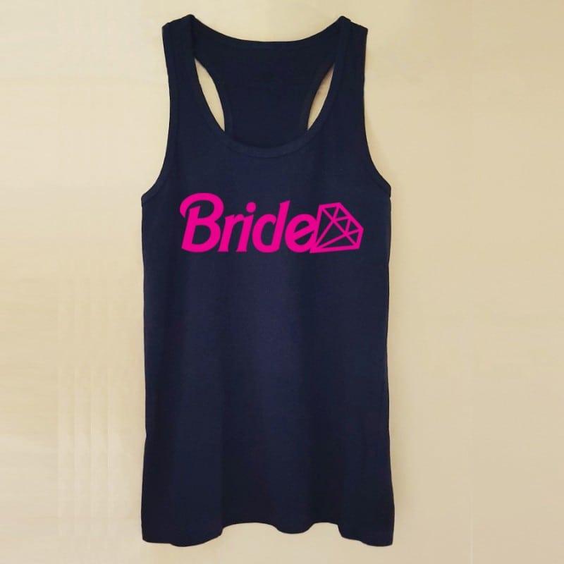 """Barbie Bride"" Μαύρο τιραντάκι για τη νύφη"