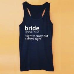 Dictionary μαύρο τιραντάκι για τη νύφη