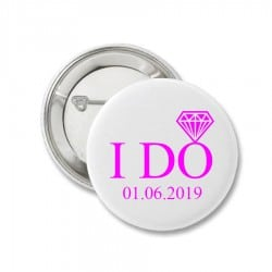 """I DO"" κονκάρδα για τη νύφη"