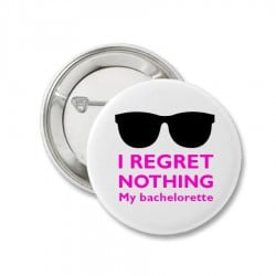"""Regret nothing""..."