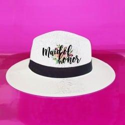 """Floral"" Panama καπέλο..."