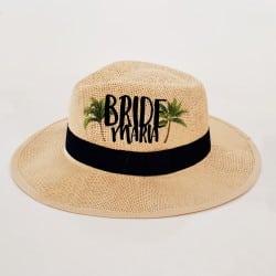 """Aloha"" Panama καπέλο νύφης"