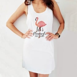 """Flamingo Fancy"" φόρεμα..."