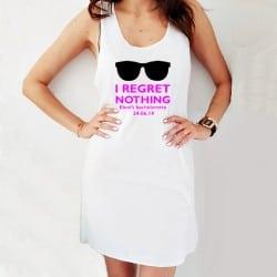 """""""Regret nothing"""" φόρεμα..."""