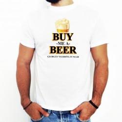 """""""Buy me a beer"""" λευκό..."""