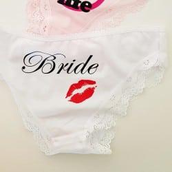 """""""Red Lips"""" εσώρουχο νύφης..."""
