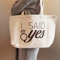 """I Said Yes"" Τσάντα νύφης..."