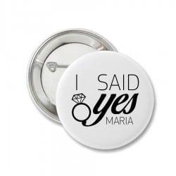 """I Said Yes"" κονκάρδα για..."