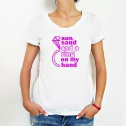 """""""Sun, Sand, Ring"""" λευκό..."""