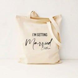 """""""Getting Married"""" Τσάντα νύφης"""