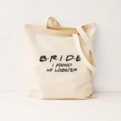 """""""Friends Lobster"""" Τσάντα νύφης"""