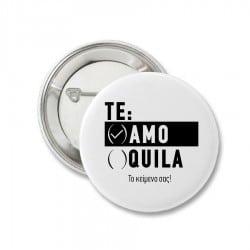 """Te Amo"" κονκάρδα για τη νύφη"