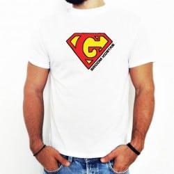 """""""Superman"""" λευκό tshirt για..."""