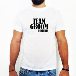 """Team Bernard"" λευκό tshirt..."